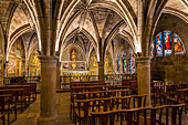 SAINT SAUVEUR ABBEY CHURCH, NOTRE DAME DE PITIE CHAPEL, FIGEAC, LOT, OCCITANIE, FRANCE
