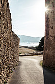 The Citadel of Saint Florent, Corsica, France.