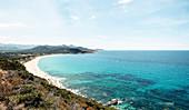 Losari beach, Corsica, France.