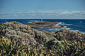 Cape Leeuwin Lighthouse at Augusta, Western Australia, Australia, Oceania