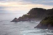 Heceda Head Lighthouse, Highway 1, Oregon Coast, USA