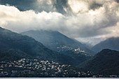 Mountain villages in Corsica, France