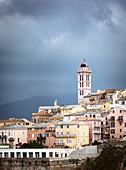 Bastia old town, Corsica, France
