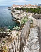 Bonifacio old town, Corsica, France
