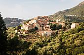 Bergdorf Pigna, Korsika, Frankreich