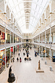 The Grand Gallery of the former Royal Museum, National Museum of Scotland, Royal Museum, National Museum of Scotland, Edinburgh, Scotland, Great Britain, United Kingdom