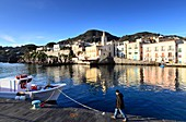 at the old port of Lipari, Aeolian Islands, southern Italy