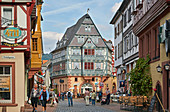 Hotel zum Riesen in the old town of Miltenberg, Main, Lower Franconia, Bavaria, Germany, Europe