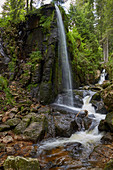 Waterfall of the Alb near Menzenschwand, S? Dschwarzwald, Black Forest, Baden-W? Rttemberg, Germany, Europe
