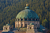 Dome of the cathedral of St. Blasien, St. Blasien, summer, southern Black Forest, Black Forest, Baden-Wuerttemberg, Germany, Europe