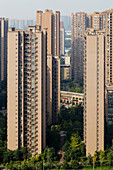 High Rise Apartment Blocks\nChengdu City\nSichuan Province\nChina\nLA008736