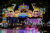 Street Lights celebrating Deepavali Festival October 2017\nLittle India\nSingapore\nTV000418