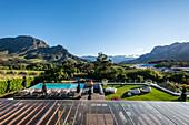 Weingut Clouds Estate, Stellenbosch, Cape Winelands,  Südafrika, Afrika