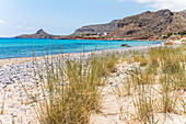 On the beach at Xerokambos (Mazida Ammos), East Crete, Greece