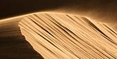 Namibia - April 29, 2009: View of high sand dunes close to Swakopmund.