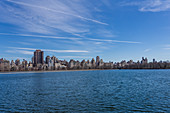 View of Manhattan from Central Park, New York City, USA