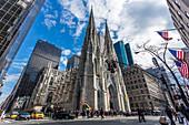 Saint Patrick's Cathedral, New York City, USA