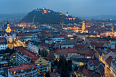 The historic center of the city, Graz, Austria