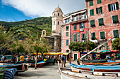 At the port of Vernazza, Cinque Terre, Italy