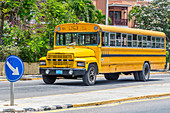 School bus, Varadero, Cuba