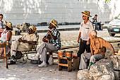 Street musician, Havana, Cuba