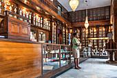 Old wooden pharmacy, Havana, Cuba