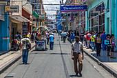 In the streets of Santiago de Cuba, Cuba