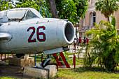 Old airplane in Santiago de Cuba, Cuba