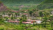 Kleines kubanisches Dorf in El Cobre, Kuba