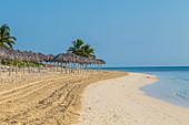 Morgens am Strand, Playa Santa Lucia, Kuba