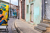 The most popular means of transportation for tourists in Camagüey, Cuba