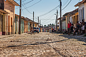In the streets of Trinidad, Cuba