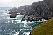 Cliffs and surf at Mizen Head, County Cork, Ireland