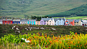Colorful houses in Allihies, County Cork, Ireland