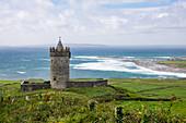 Doonagore Castle, Doolin, County Clare, Ireland, Europe