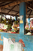 Fruit and vegetable market in Watamu, Watamu, Malindi, Kenya