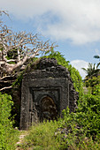 Ruins in the grounds of Temple Point Resort, Mida Creek, Watamu, Malindi, Kenya