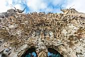 Beautiful details at the Sagrada Familia in Barcelona, Spain