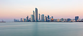 Abu Dhabi, UAE skyline