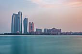 The Emirates Palace in Abu Dhabi, UAE