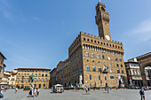 The Palazzo Vecchio in Florence, Italy