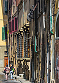 In the streets of Florence, Italy