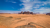 Overview of this timeless place in Wadi Rum, Jordan