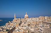 Cityscape of Valletta, Malta