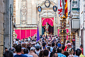 Festival in honor of Saint George in Victoria, Gozo, Malta
