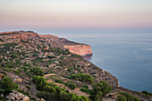 Sunset over the Dingli Cliffs in Malta