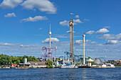 The Grönalund amusement park in Stockholm, Sweden