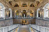 Inside the Natural History Museum in Vienna, Austria