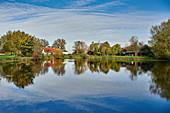Anglerteich, Dorum, Lower Saxony, Germany