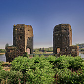 The bridge at Remagen (view from Erpel)